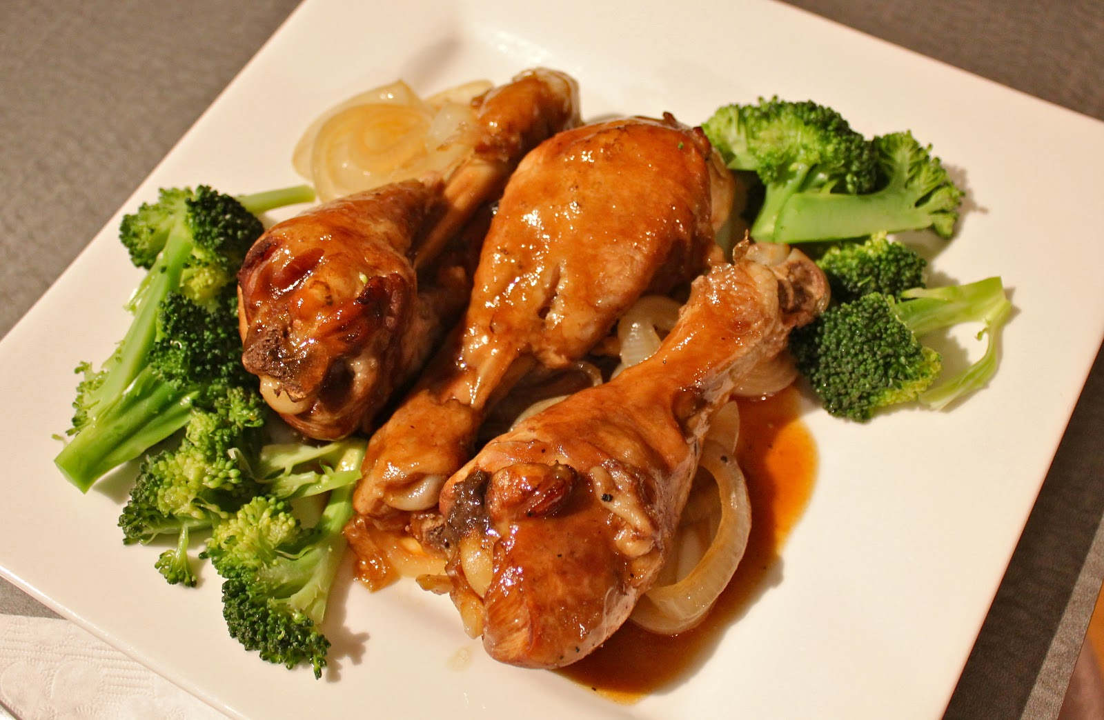 some juicy, flavourful chicken that falls off the bone! Filipino adobo ...
