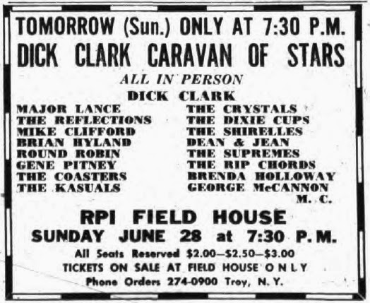 A Rock N Roll Historian Summer 1964 Caravan Of Stars
