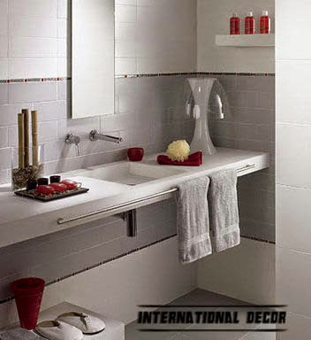 Decorative ideas for small bathrooms with top trends for New small bathroom trends