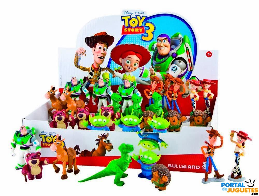 figuras toy story 3 bullyland set completo caja