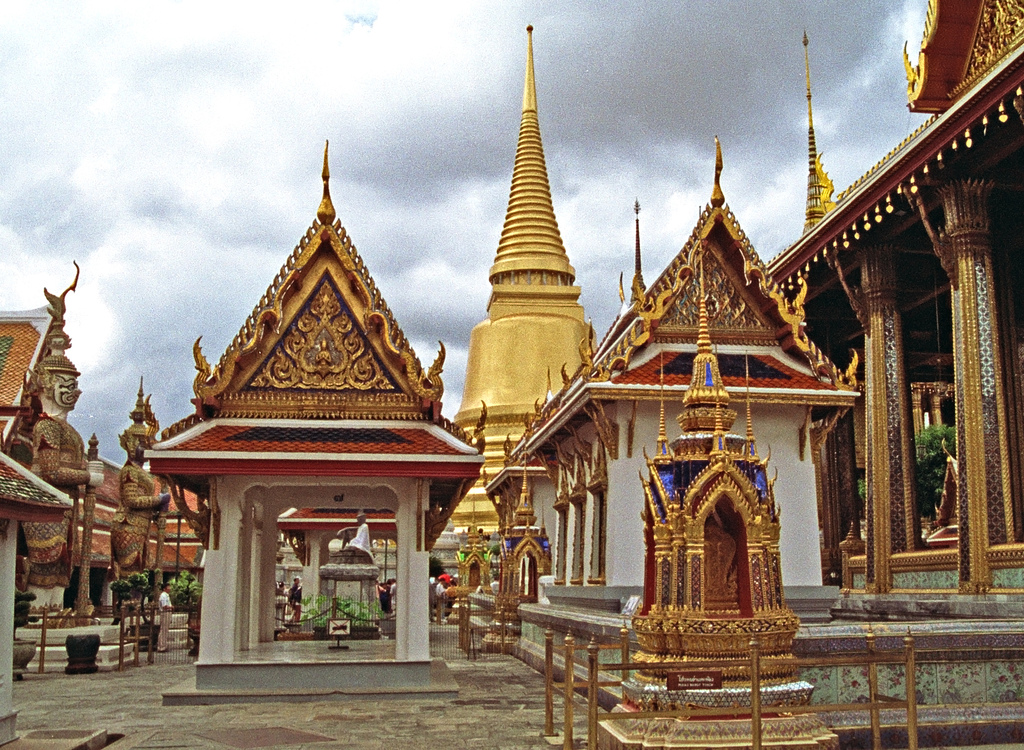"""the wat phra kaew The wat phra kaew, also known as """"the temple of the emerald buddha"""" located within the grounds of the grand palace in bangkok is thailand's most sacred temple and an important pilgrimage site for thai buddhists."""