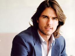 TOM CRUISE LONG THICK HAIR