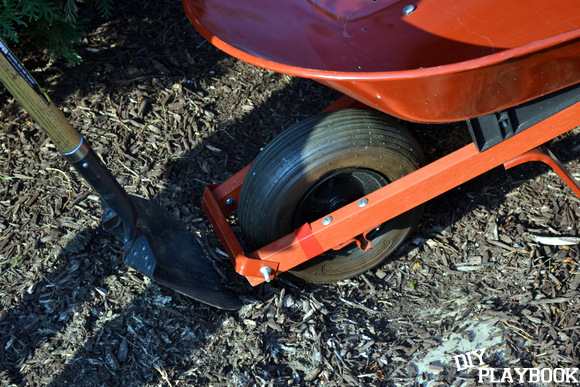 Digging holes: Wheelbarrow Planter | DIY Playbook