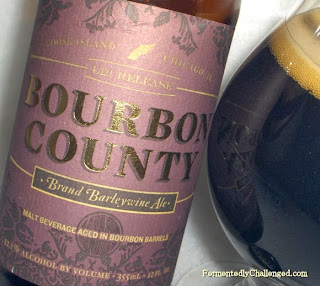 Bourbon County Brand Barleywine close-up