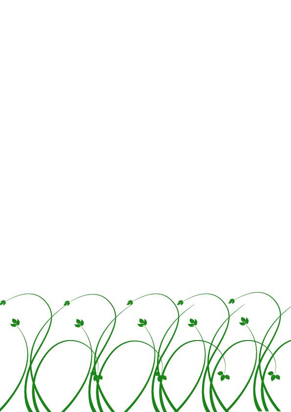 Bordes de pagina de flores