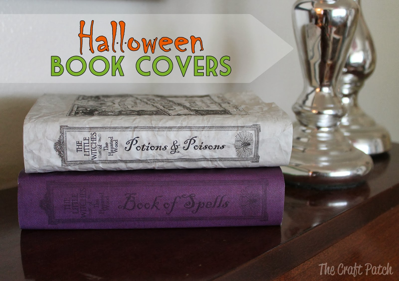 Book Cover Craft Update : The craft patch halloween