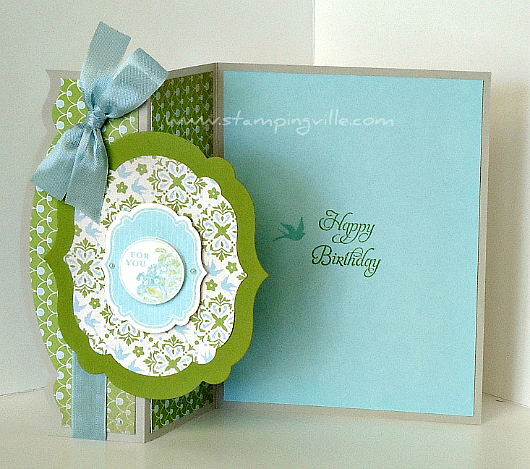Stampin' Up! Apothecary Art Stamp Set Birthday Card