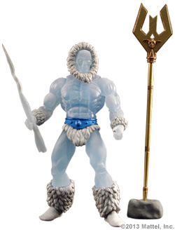 Mattle Matty Collector Master of the Universe MOTU Classics Filmation Icer figure