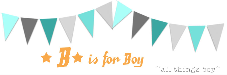B is for Boy!