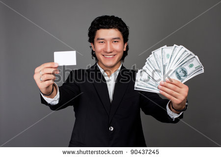 Asian cash guy