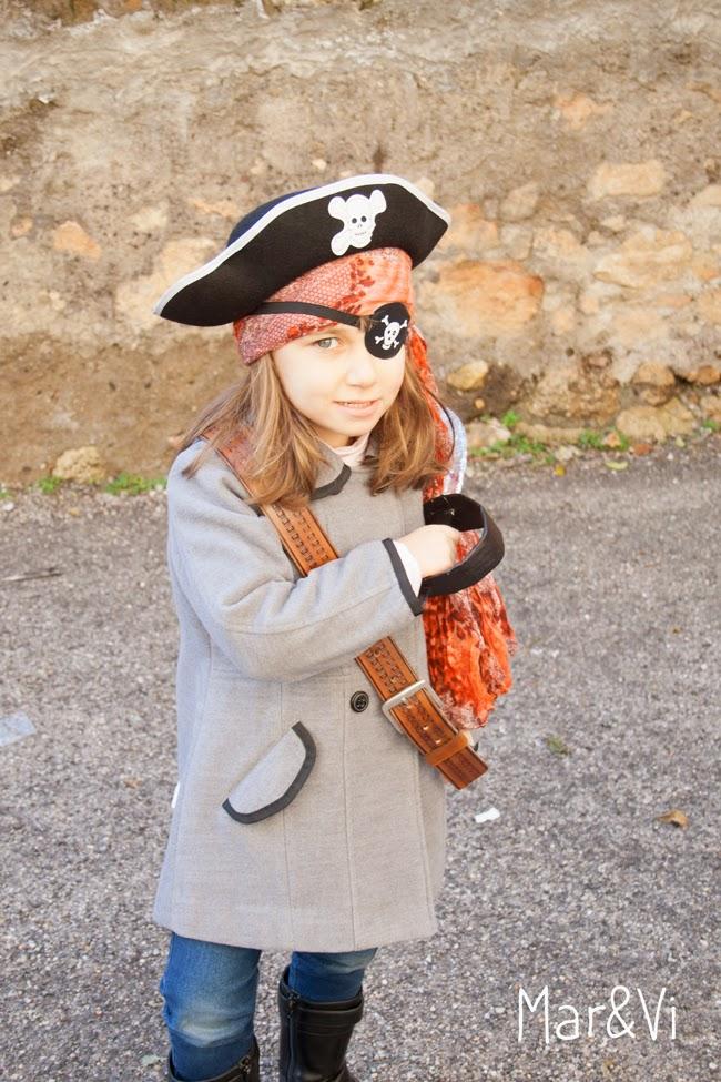 Maschera di pirata fai da te
