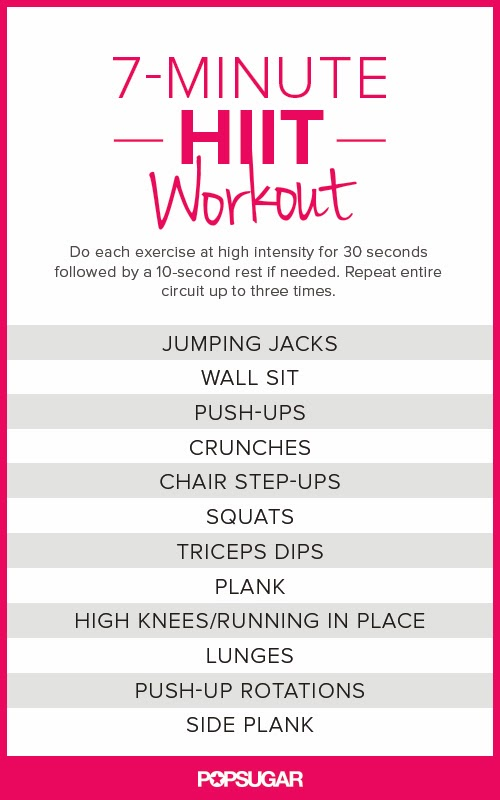 Awesome quotes 7 minute total exercise routine
