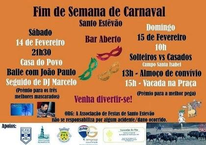 Stº Estêvão(Benavente)- Vacada de Carnaval 2015