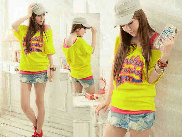 BLOUSE YELLOW EC43BY