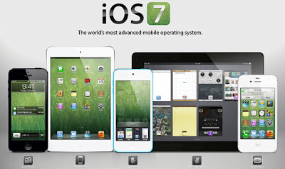 Apple iOS 7 Firmwares at WWDC 2013