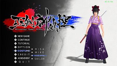 Screenshot Mitsurugi Kamui Hikae Full Version For PC