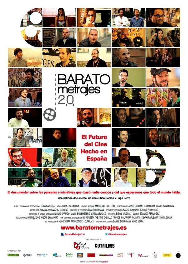 Póster de BARATOmetrajes 2.0 – El Futuro del Cine Hecho en España