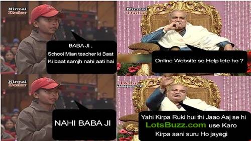 Nirmal Baba Funny Jokes Hindi Pics Messages 8 Nirmal Baba