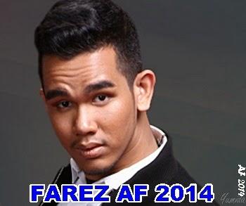 Biodata farez AF 2014, biodata peserta Akademi Fantasia 2014, profil Akademi Fantasia 2014, latar belakang peserta Akademi Fantasia 2014, gambar farez AF 2014