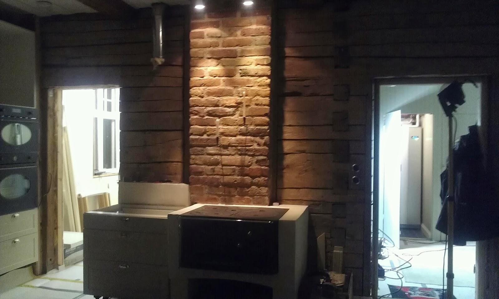 Lilla tavelsjö: mysbelysning i köket