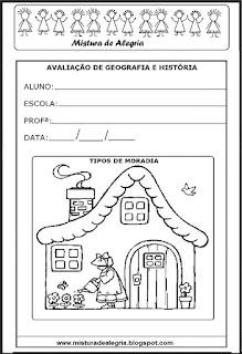 Avaliação de português - 2º ano