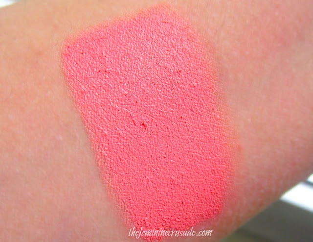Topshop Blush in Head Over Heels - swatch