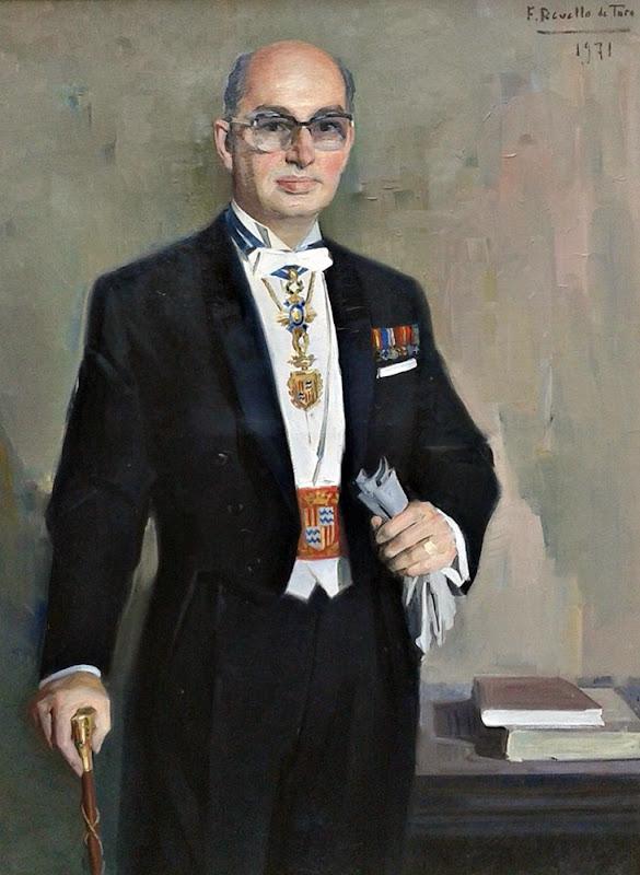 Retrato de Felipe Antoja Vigo, Félix Revello de Toro, Retratos de Revello de Toro, Pintor español