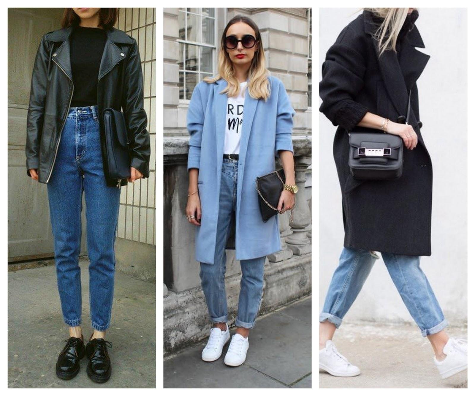 Kışın Beyaz Jean Nasıl Kombinlenir