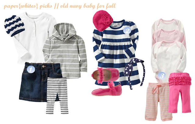 paper{whites} picks // old navy baby for fall