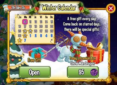 imagen del premium box del snow man dragon