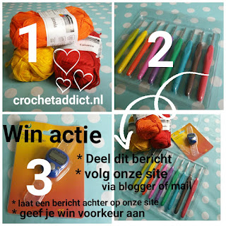 Give Away bij Crochet Addict