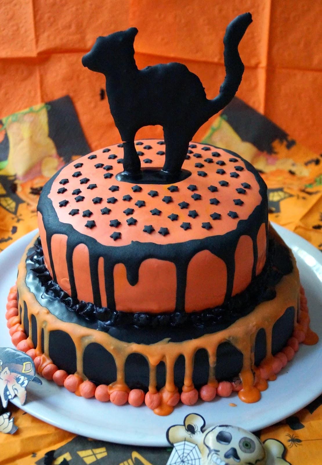 baiserh ubchen halloween torte. Black Bedroom Furniture Sets. Home Design Ideas