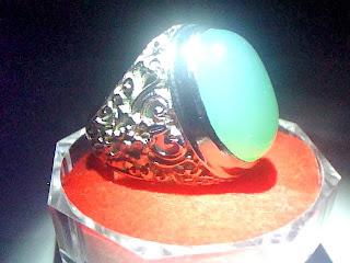 Batu Cincin Calcedony
