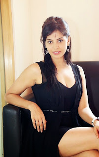 Supriya Shailaja elegant pose in Beautiful Black Gown Sizzling Pictureshoot