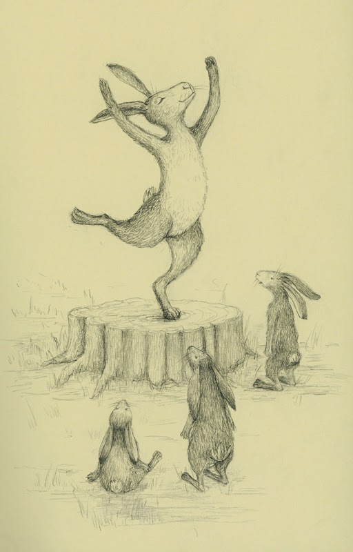 dancing hare - yara dutra