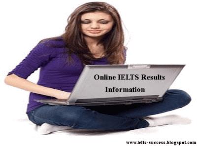 IELTS Online results