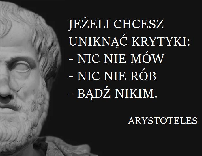arystoteles = cytat