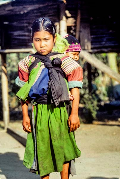 Hill Tribe Girl, Fang Area