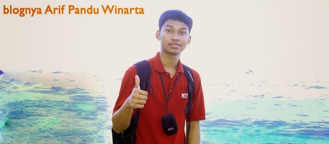 Blognya Arif Pandu W