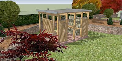 Rodinný pasivní dům - zahrada