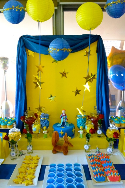 The inspired occasion party blog le petit prince Decoration le petit prince