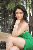 Ankita Sharma Hot photo shoto in Green-thumbnail-14