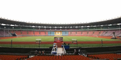 Tempat Final Piala Presiden 2015 di Gelora Bung Karno Senayan Jakarta