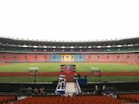Tempat Final Piala Presiden 2015 di Senayan Jakarta