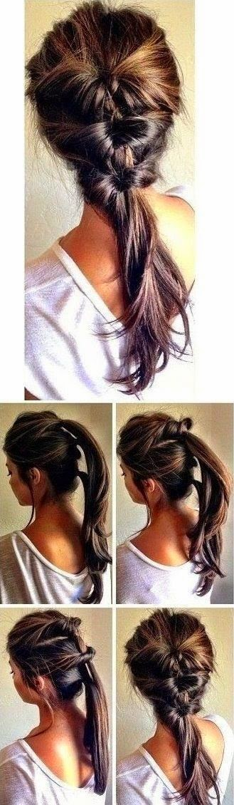 Easy but unique Hair style