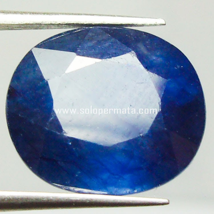 Batu Permata Blue Sapphire+memo - 22A02