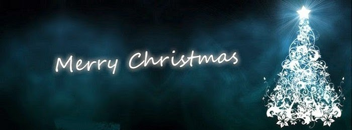Merry christmas facebook cover 2014 happy new year 2015 for Holiday themed facebook cover photos