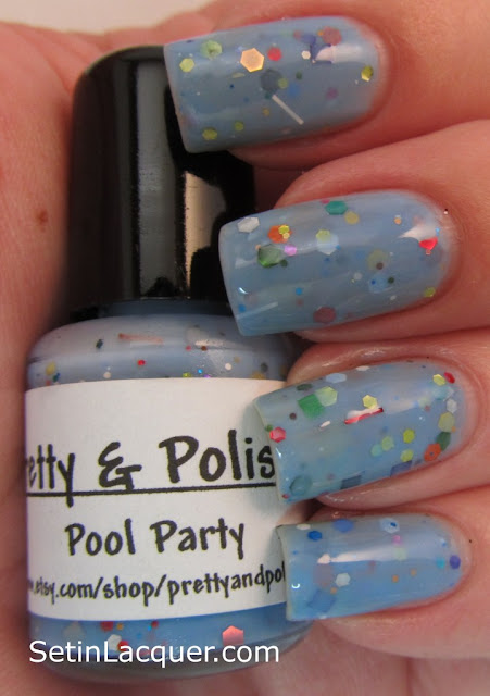 Pretty & Polished Pool Party nail polish