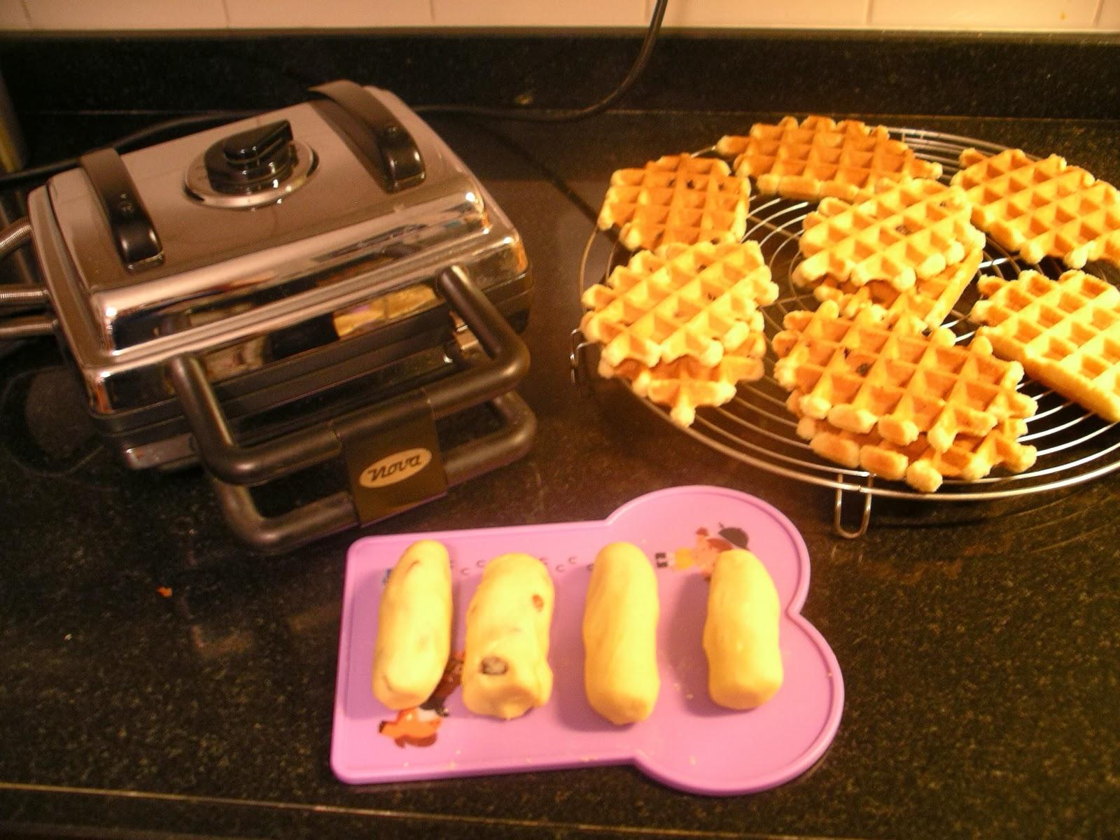 harde wafels bakken recept