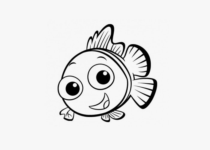baby fish coloring pages - photo#4
